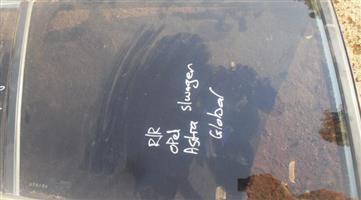 1996 opel astra right rear door glass