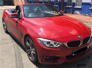 2014 BMW 4 Series 428i convertible sports auto