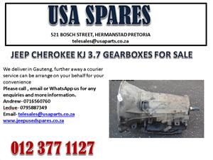 JEEP CHEROKEE KJ 3.7 GEARBOX FOR SALE