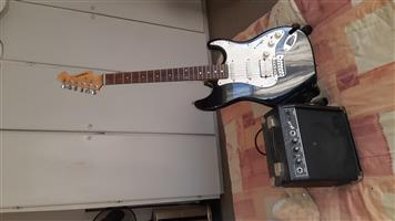 Electric Guitar, stand and Amp for only R 1200
