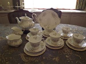 Royal Albert Haworth 23 piece tea set