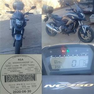 2012 Honda NC750X