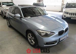 2012 BMW 1 Series 118i 5 door Sport