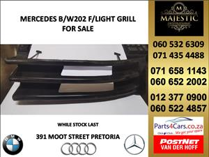 Mercedes benz w202 light grill for sale
