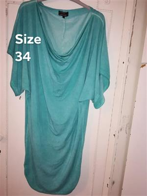 Turquoise traffic blouse for sale