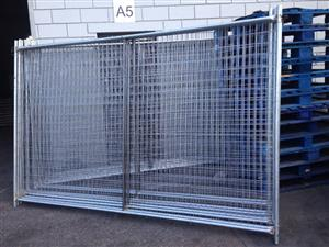 Temporary fence panels and Crowd control panels