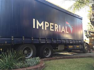 16 Ton Curtain side Delivery Truck for Hire