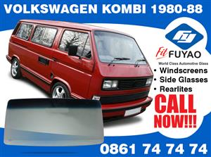 Brand new windscreen for sale and fitting for Volkswagen Kombi 1980-1988 models #7026