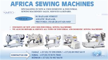 TYPICAL COVERSEAM ( AFRICA SEWING MACHINES)