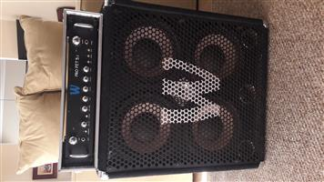 Warwick PRO FET 5.1 head and WCA 411 PRO cab for sale