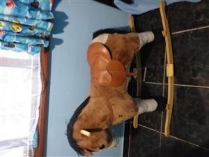 KIDDIE ROCKING HORSE FOR SALE IN FLAMINGO-HEIGHTS TONGAAT