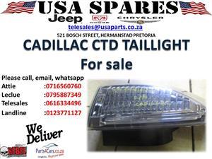 CADILLAC CTD TAIL LIGHT