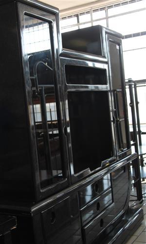 Black TV stand S030652A #Rosettenvillepawnshop
