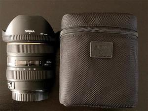 Sigma 10-20 mm, f4-5.6