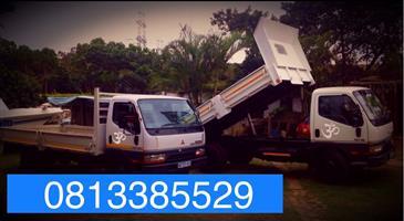 Truck hire 0813385529 Rubble Removal, garden refuse ,furniture ,cargo