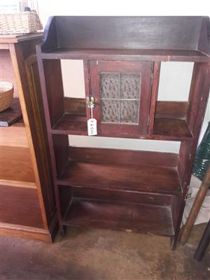 Bookcase with little cubbyhole