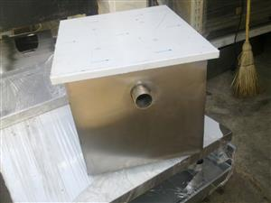 grease traps         fat traps  new and used available