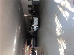 500sqm Warehouse up for rent on plot 1,5km from Woodlands Mall Pta east, 3 phase power, CCTV, Alarm,internet  available safe and secure