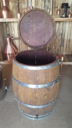 Wine Barrel Smoker