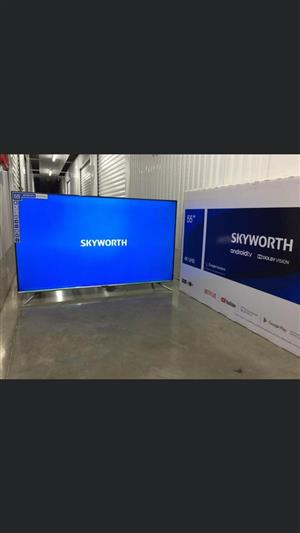 55 inch Smart Android Skyworth LED TV for sale  Kempton Park