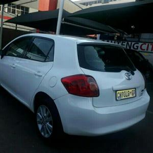 2009 Toyota Auris 1.4 RS