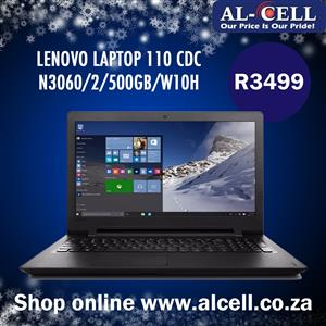 LENOVO LAPTOP 110 CDC N3060/2/500GB/W10H