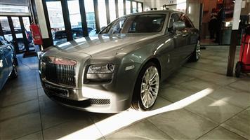 2012 Rolls Royce Ghost Extended Wheelbase