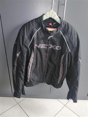 Mens biker jacket for sale. Nexo. Kevlar.