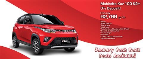 2020 Mahindra KUV100 Nxt KUV 100 1.2 K2+ NXT