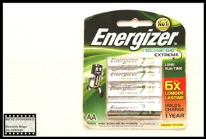 Energizer Recharge Extreme 2300mAh AA Batteries