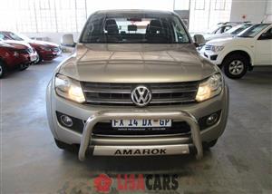 2013 VW Amarok double cab AMAROK 2.0 BiTDi HIGHLINE 132KW 4MOT D/C P/U