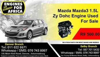 Mazda Mazda3 1.5L Zy Dohc Engine Used For Sale
