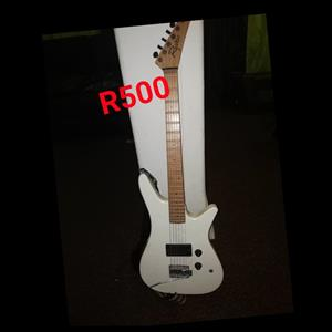 White box guitar for sale
