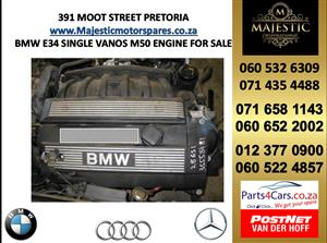 Bmw e34 single vanos engine for sale