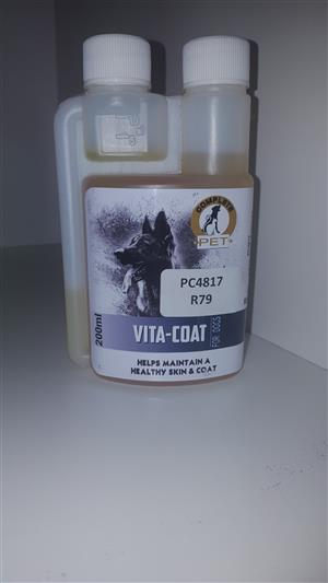Complete Pet Vita Coat available at PETS4LIFE BRACKENFELL