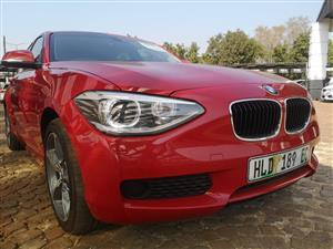 2015 BMW 1 Series 116i 3 door auto