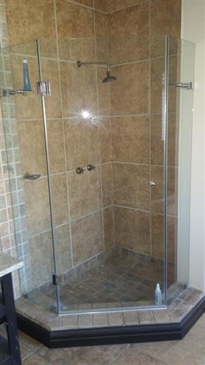 Secondhand shower doors