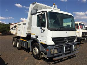 Mercedes Benz Actros 10m3 Tipper 2004 Pre-Owned Truck