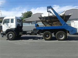 Double diff skip truck for sale
