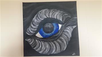 Local artist Whale eye