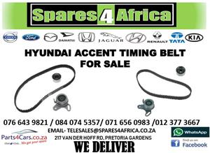 HYUNDAI ACCENT TIMING BELT