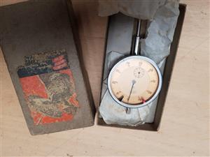 Precision depth gauge and dial indicator