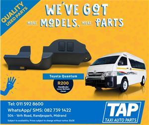 Toyota Quantum Dashboard Handbrake Lever Bottom Cover - Taxi Auto Parts - TAP