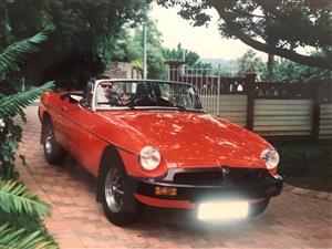 MG B Roadster 1981