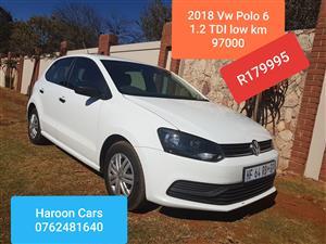 2018 VW Polo 1.2TDI BlueMotion