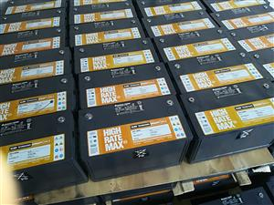 DEEP CYCLE HIGH MAX BATTERIES FOR SALE