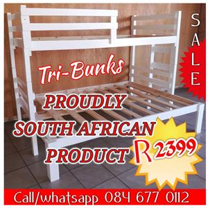 Long lasting good quality bunk beds