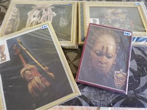 African Art Picture frames