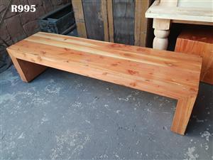 Medium Heavy Duty Pine Bench (1885x500x480)