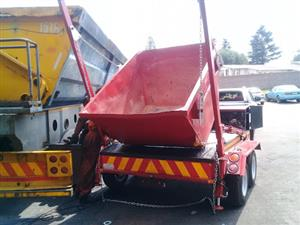 COMBO OF [10] 2m SKIP BINS AND SKIP TRAILER MANUFACTURES AND HYDRAULISC SYSTEMS INSTALLATION CALL NOW!!! 0766109796